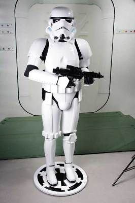 Star Wars Prop Life Size Stormtrooper Statue - ONLY $3,850!!!