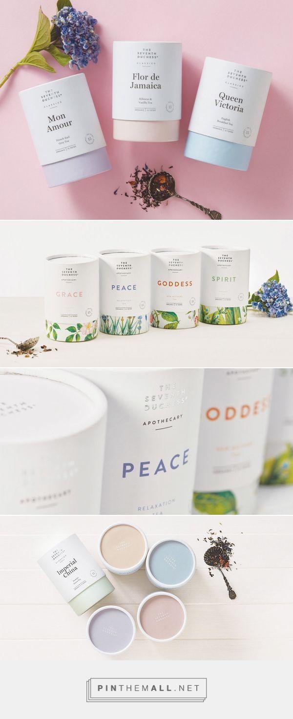 Elegant Tea Brand The Seventh Duchess Gets a Subtle Makeover — The Dieline | Packaging & Branding Design & Innovation News - created via