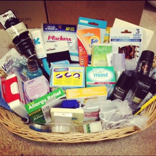 Guest Bathroom Basket Also Stuff To Put In Your Emergency