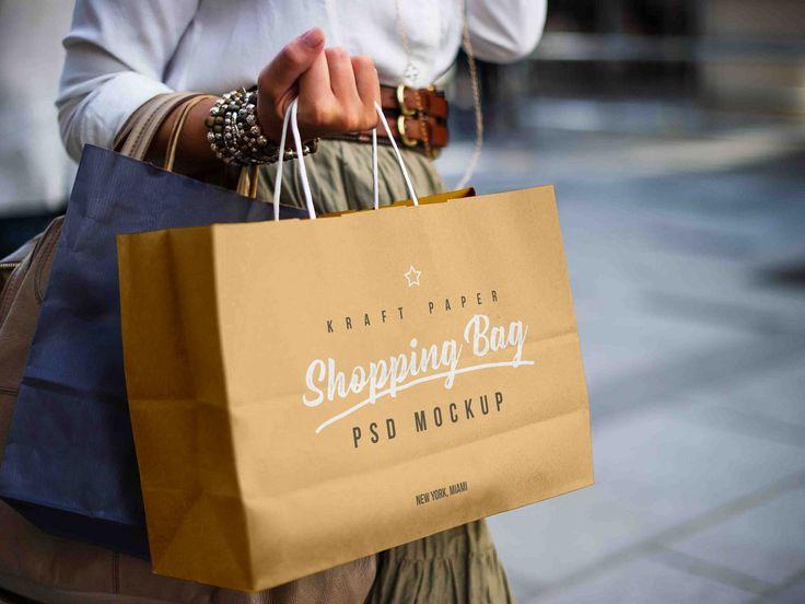 Download Free Female Holding Kraft Paper Shopping Bag Mockup Psd Bag Mockup Free Packaging Mockup Paper Shopping Bag