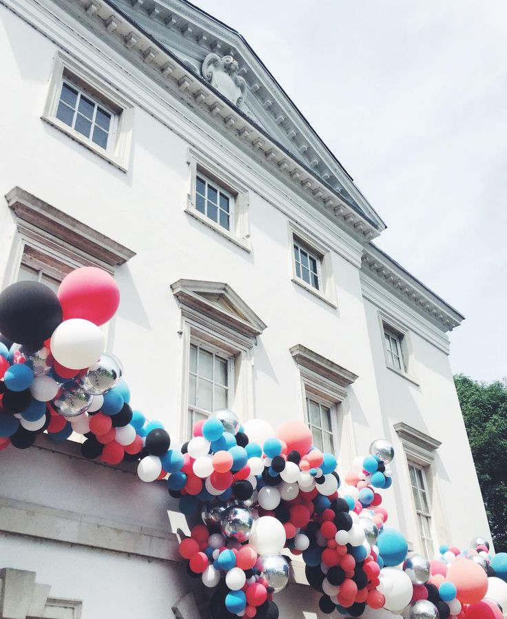 Balloons at Soho House Festival, Marble Hill