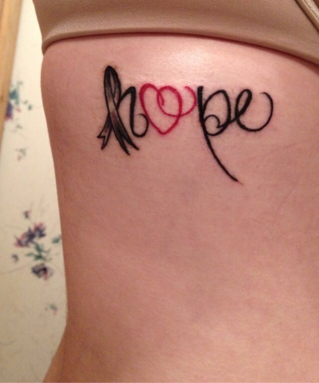 17 Best Ideas About Cancer Memorial Tattoos On Pinterest: Melanoma Cancer Memorial Tattoo