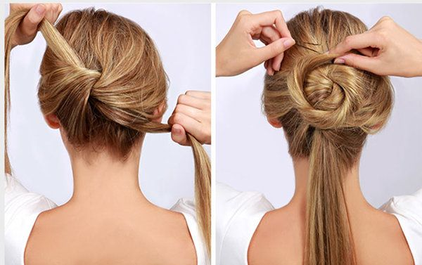 Wedding hairstyle ideas step by step : Best ideas about easy wedding updo on