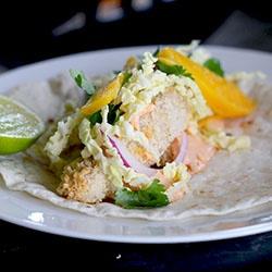 Crispy Panko Fish Tacos Recipe — Dishmaps