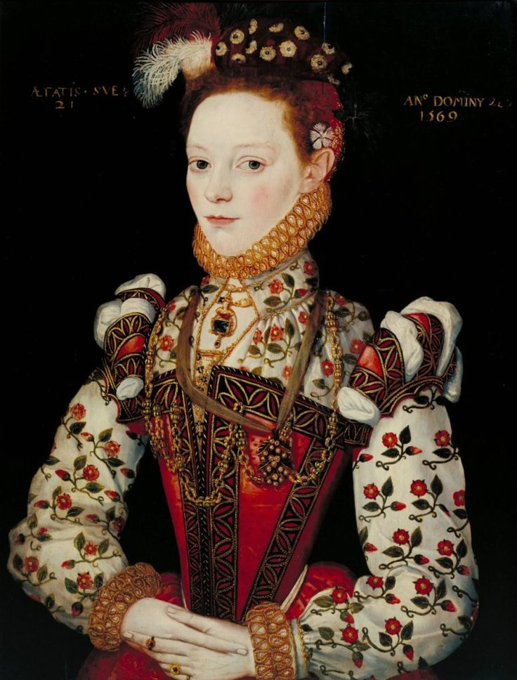 1569 Helena Snakenborg, later Marchioness of Northampton.  Artist: unknown