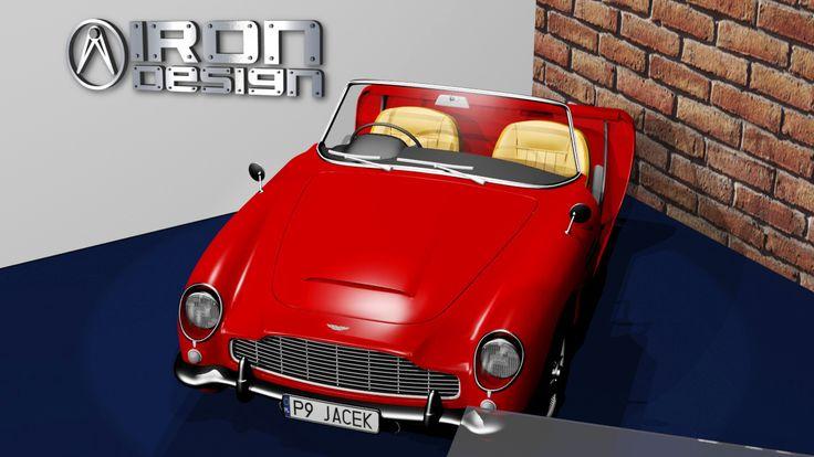 Aston Martin db5 sofa