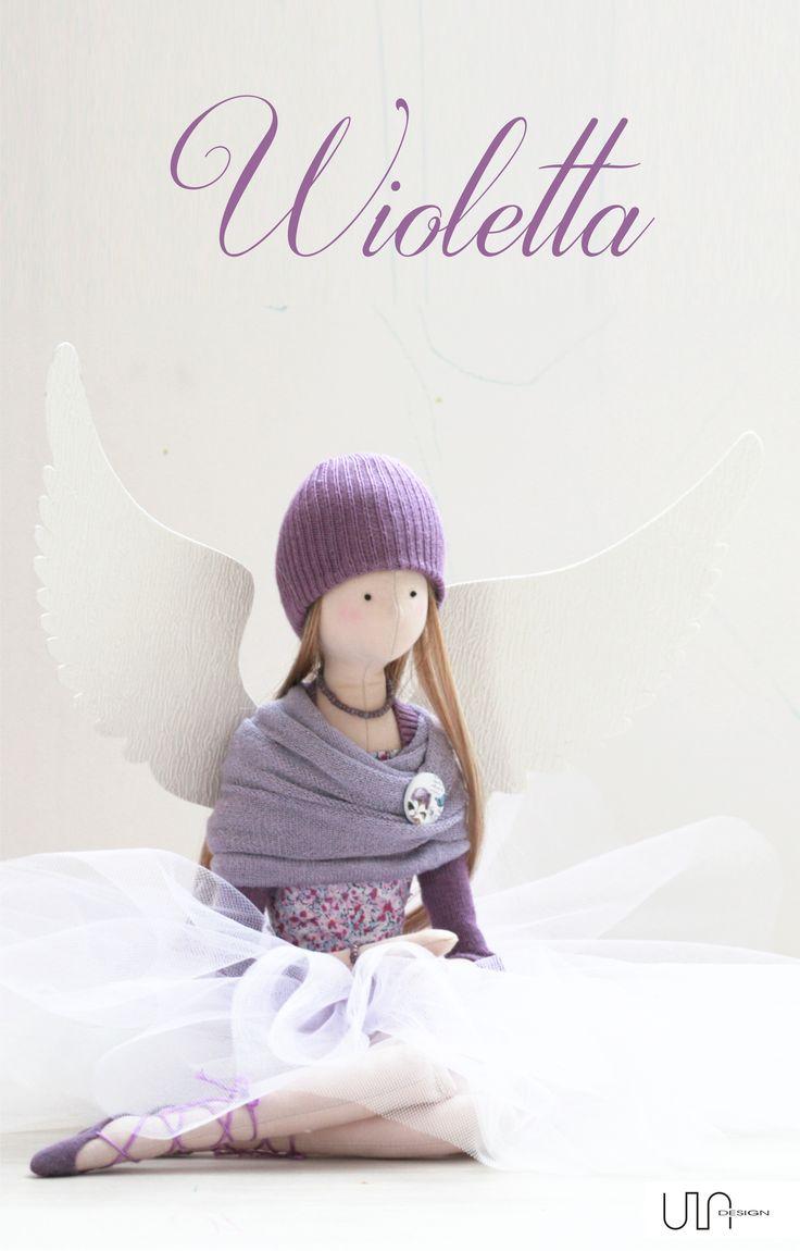 Angels Tilda doll
