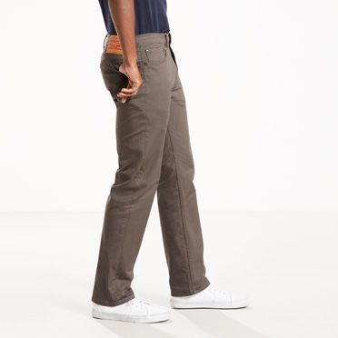Levi's 505 Regular Fit Twill 5-Pocket Pants - Men's 32x34
