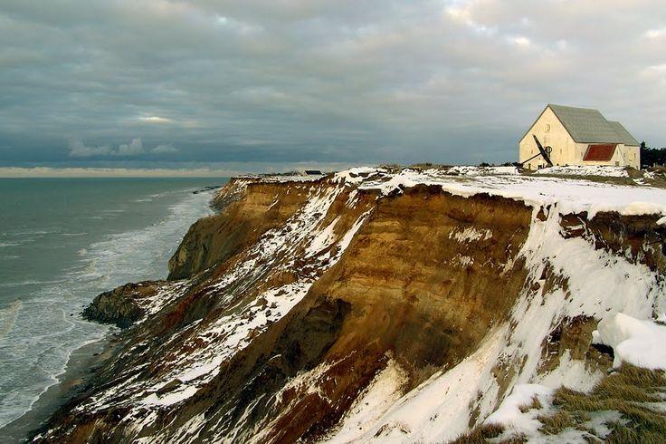 lønskrup | Panoramio - Photo of Cliff near Mårup Kirke - Lønstrup, Denmark