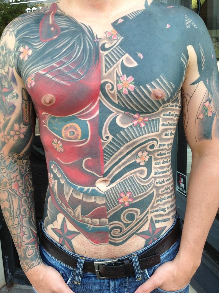 135 best tattoos it 39 s what i do at red rabbit tattoo for Chest cover up tattoos
