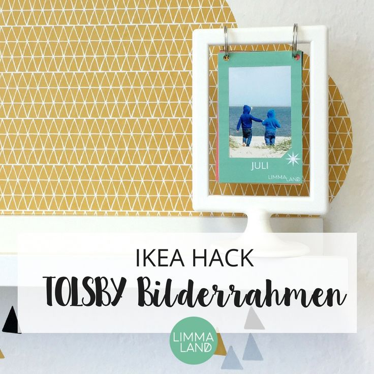 21 best IKEA HACK - TOLSBY Bilderrahmen images on Pinterest | Ikea ...