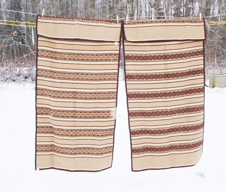 Woolen Bed Cover Set of Two 63x30 inches Kilim Rug Handwoven Brown Striped Armchair Cover Navajo Rug Wool Home Textile by MerilinsRetro on Etsy https://www.etsy.com/listing/213357682/woolen-bed-cover-set-of-two-63x30-inches