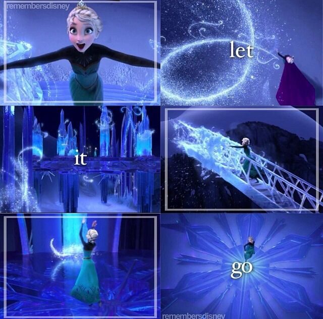 Frozen Let It Go- I don't  know what it is about this part but it gives me tingles every time I watch it.