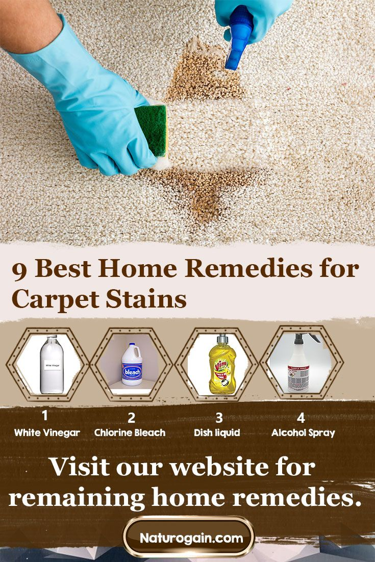 9 Best Home Remes For Carpet Stains With Images