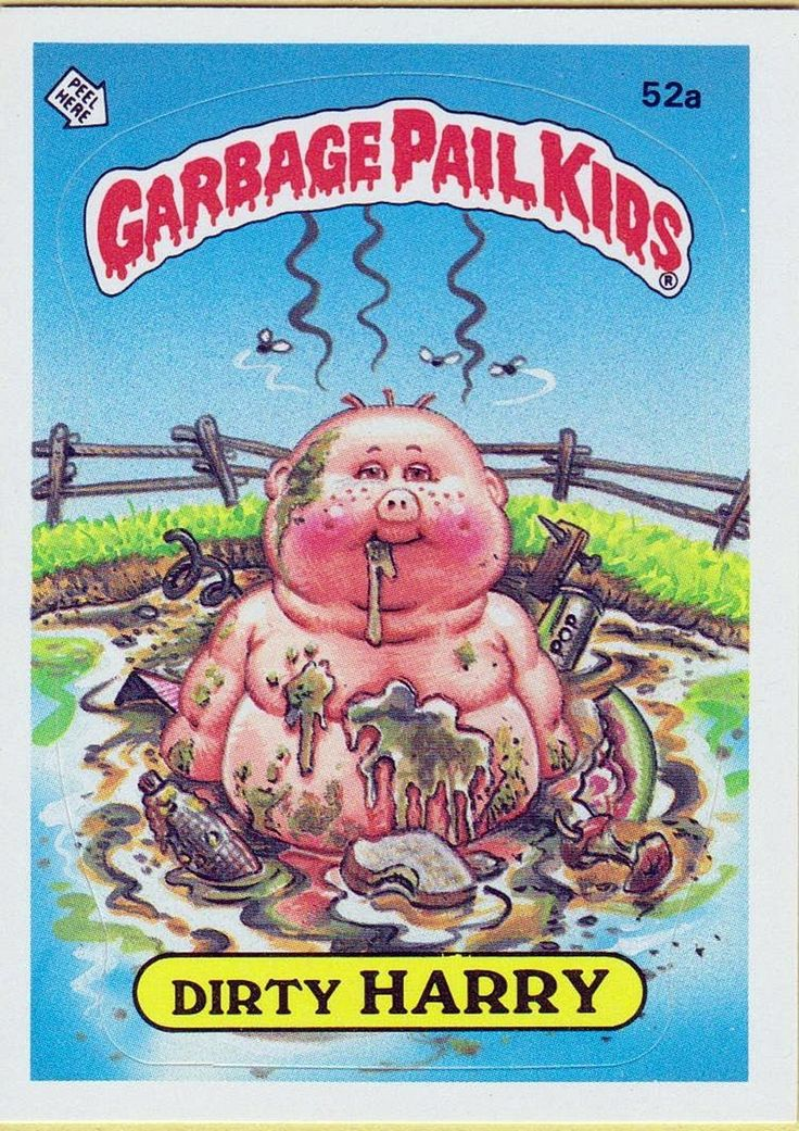 Garbage pail kids i had a huge collection of these