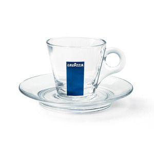 Lavazza Espresso Glass Saucer