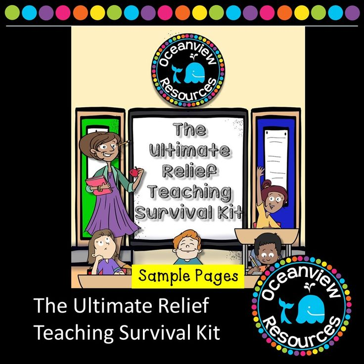http://selz.co/VkfbmxS-Z   The Ultimate Relief Teaching Survival Kit is designed for any primary teacher, but essentially with Casual Relief  teachers in mind. The book includes teacher written activity sheets and Weblinks to support the teaching of all Key Learning Areas of the Syllabus and save you hours of frustrating searching for online resources. (scheduled via http://www.tailwindapp.com?utm_source=pinterest&utm_medium=twpin&utm_content=post102166153&utm_campaign=scheduler_attribution)
