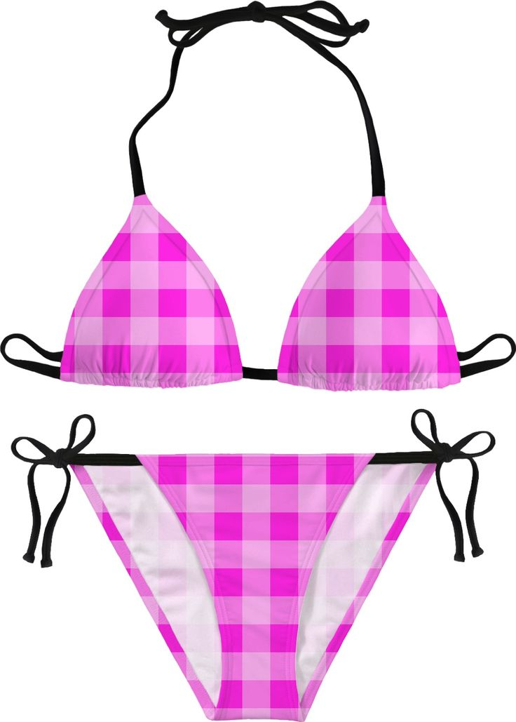 Candies plaid bikini