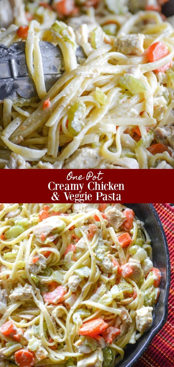 30+ Creamy Vegetable Pasta
