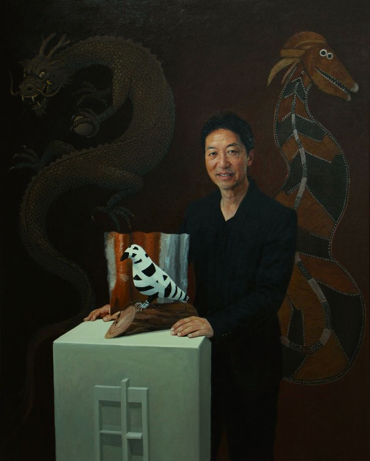 Portrait of Simon Chan 2014  Oil on canvas  150x120cm
