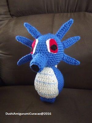 Gratis Nederlands haakpatroon Horsea (pokemon) - Tallsay.com