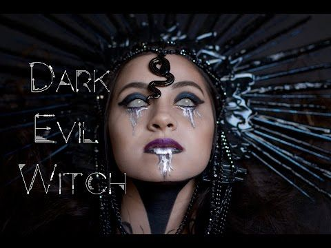 Scuro malvagia strega trucco Tutorial per Halloween o Cosplay - VideoTrucco