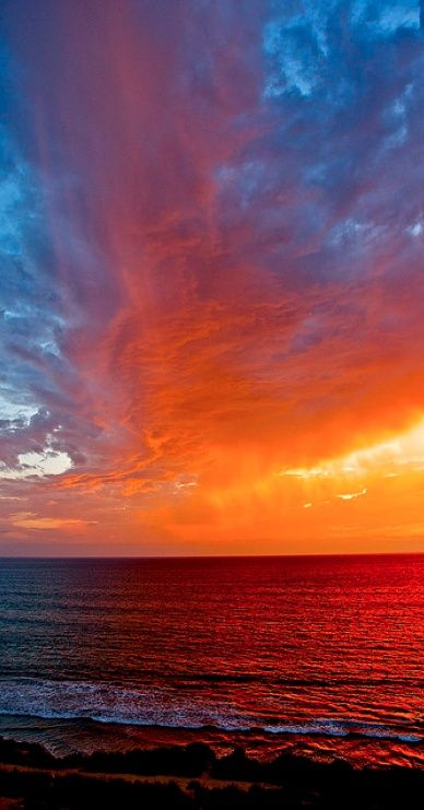 Orange & Blue sunset