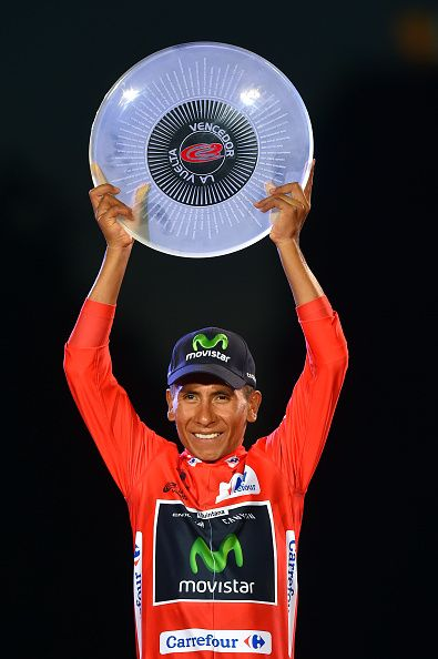 Tour of Spain 2016 Stage 21 Nairo QUINTANA La Vuelta / Tim de Waele Corbis…