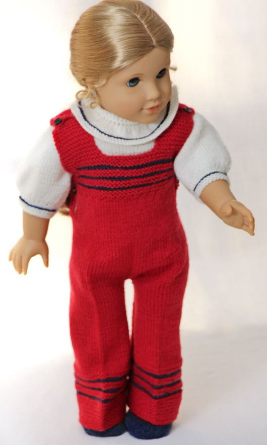 Free dolls clothes knitting patterns