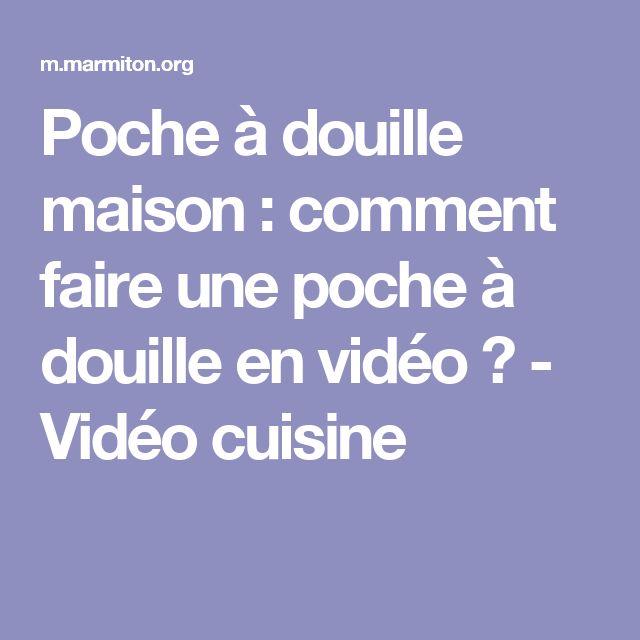 Poche à douille maison : comment faire une poche à douille en vidéo ? - Vidéo cuisine