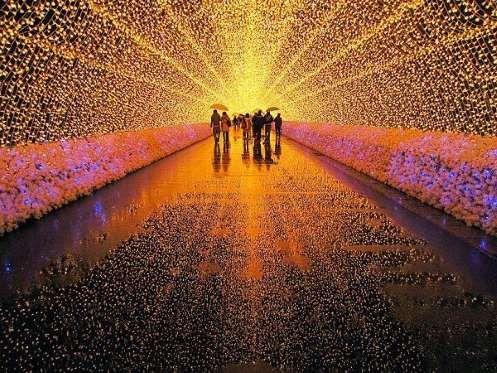 15. Festival de las luces de invierno, Japón - boredpanda