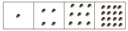 Square Foot Gardening Plant Spacing. To calculate how many plants per square, look on the back of the seed packet–totally ignore the row spacing, just look at the plant spacing: