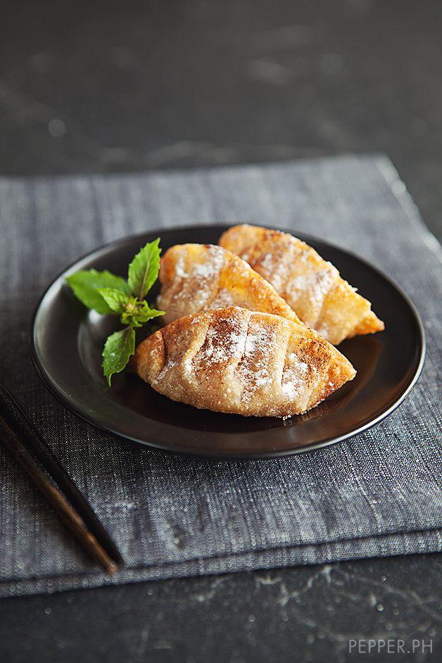 Deep-Fried Cinnamon Apple Dumplings: