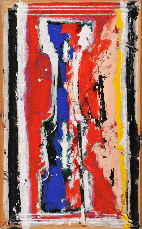 Serge Lemoyne - Sans titre - Série La Maison, 1986-88