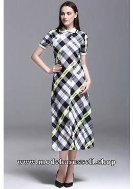 Elegantes Kleid Abendkleid Urda mit Kragen