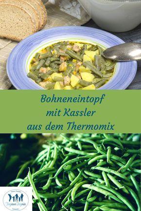 Bohneneintopf mit Kassler aus dem Thermomix