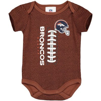 Denver Broncos Newborn & Infant Football Bodysuit - Brown