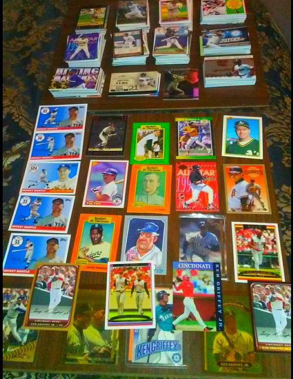 Baseball Card Collection Upgraded For Sale In Blocher In