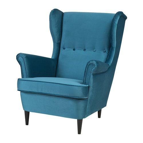 Strandmon Wing Chair Gillhov Multicolour Apartment Ideas Ikea