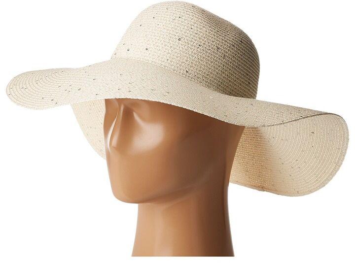 Calvin Klein - Sequin Straw Hat Caps