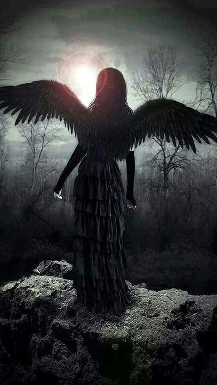 Фото темного ангела