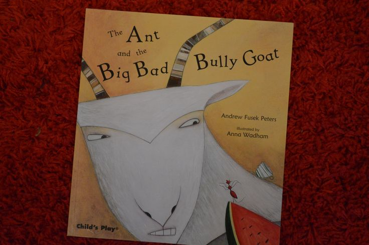 Kids Nook Reads: The Ant and the Big Bad Bully Goat