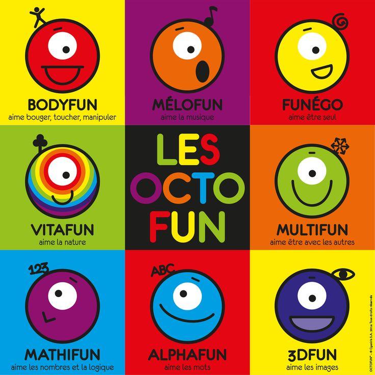 Les octofun... support pour développer les intelligences multiples