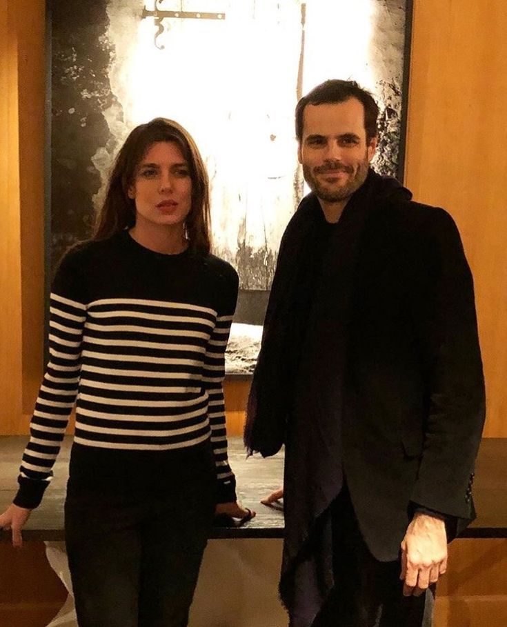 Charlotte Casiraghi at an art exhibition in Paris | January 25, 2018