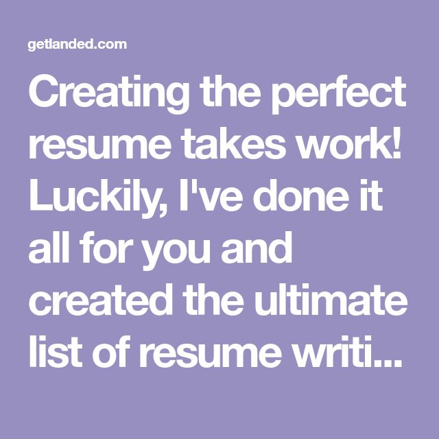 Creating the perfect resume takes work! Luckily, I've done it all for you and created the ultimate list of resume writing tips, including a free printable