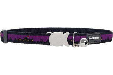 Shop where every purchase helps shelter pets! Red Dingo Cat Safety Collar Skyline - from $6.99