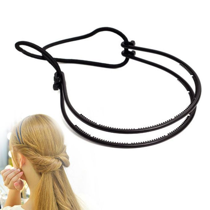 Plastic Loop Styling Tools Black Topsy Pony topsy Tail Clip Hair Braid Maker Styling Tool Fashion Salon RP1