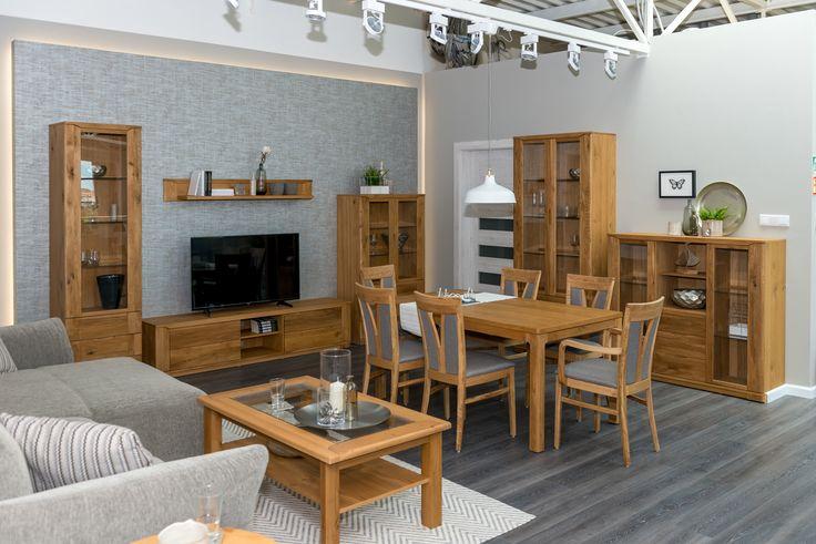 Oleo collection designed by Klose #solidwood #KloseFurniture #livingroom