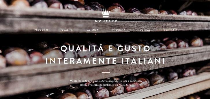 Monte Ré - Great web design