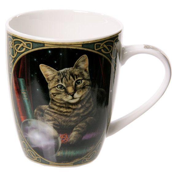 Coffee Mug  Cat Fortune Teller Lisa Parker by getgiftideas on Etsy